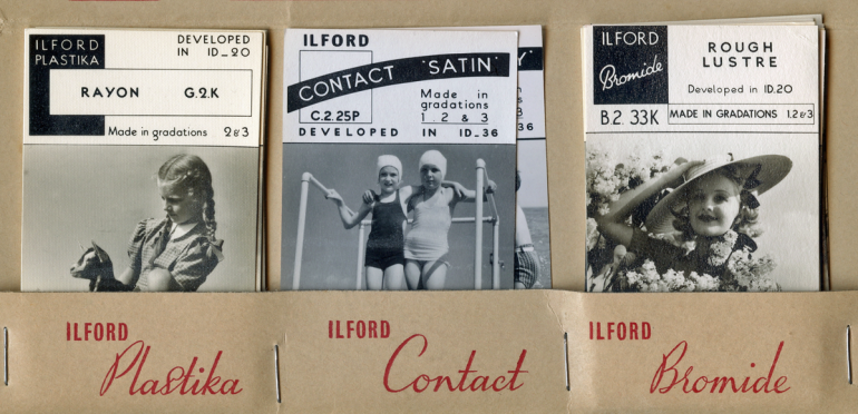 Ilford papers PNG