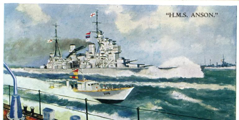 HMS Anson PNG