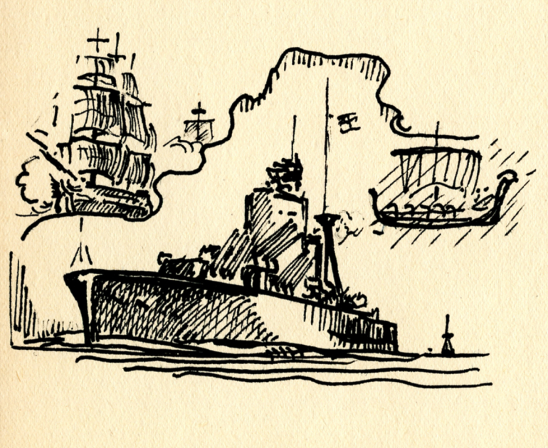 Portsm.3 warships sketch-138 PNG