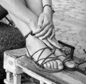Roman sandals 2 PNG
