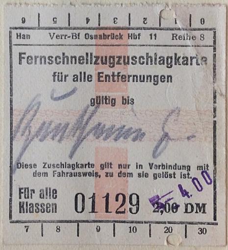 Kiel Ticket surcharge PNG